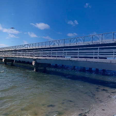 Wabasso Causeway Fishing Pier Demolition